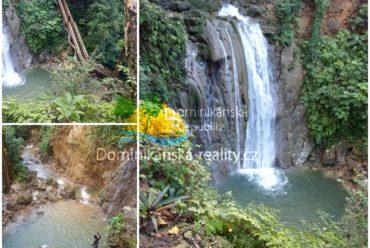 vodopád severní pobřeží , Dominikánská republika, Aris Tours