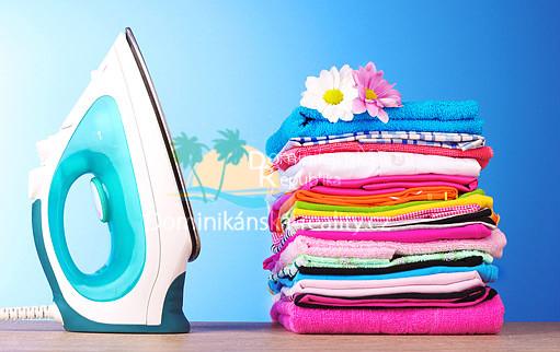 praní a žehlení prádla v Dominikánské republice