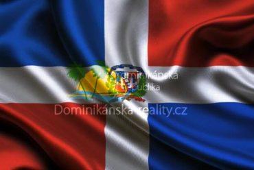 Statní symbol - vlajka Dominikánské republiky