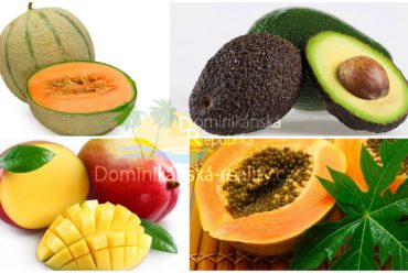 ovoce Dominikánské republiky