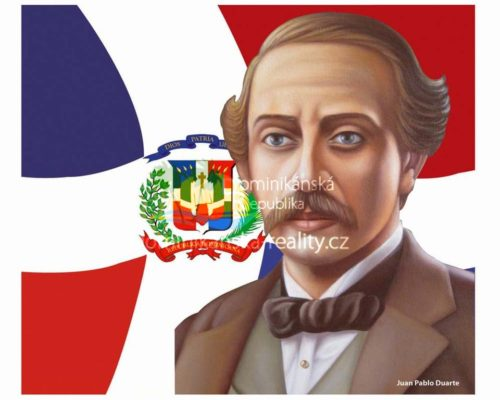 vlastenec a vůdce Juan Pablo Duarte