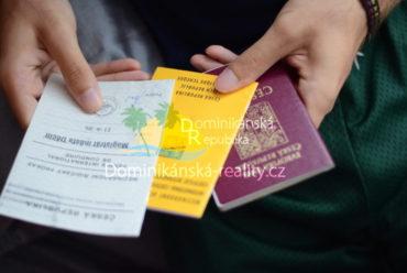 cestovní doklady do Dominikánské republiky