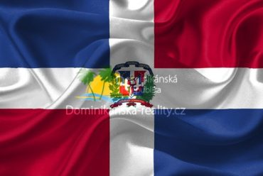 státní vlajka Dominikánské republiky