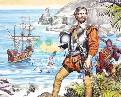pirát sir Francis Drake