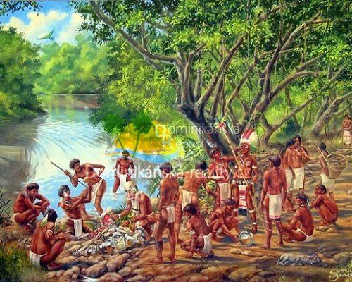 indiáni kmene Tainů