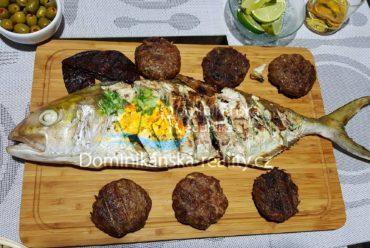 čerstvá ryba k večeři