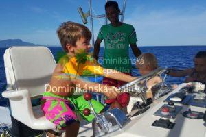Plavba na lodi a mořský rybolov