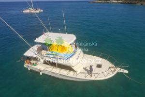 plavba a mořský rybolov na Sosua