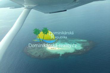 vyhlídkový let nad Dominikánskou republikou