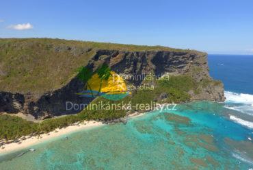 Playa Fronton, Samaná, Dominikánská republika